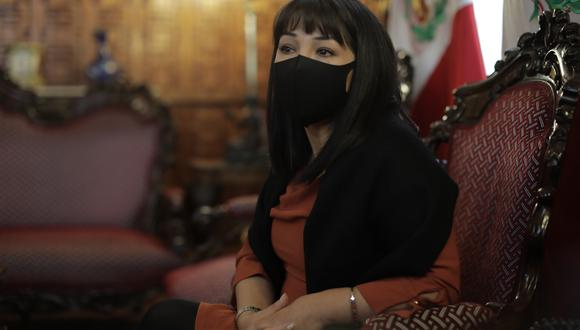 Mirtha Vásquez indicó que próximamente se anunciará la fecha en la que asistirá al Congreso para pedir el voto de confianza. (Foto: archivo GEC)