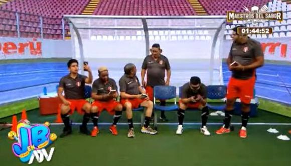 El wasap de JB emitió parodia de la selección peruana. (Foto: Captura ATV)