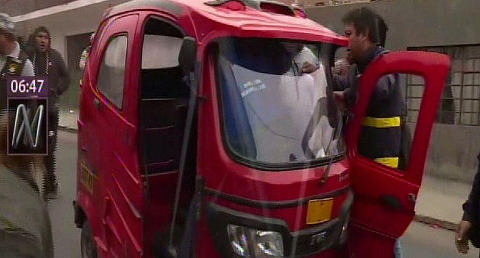 Mototaxistas informales se enfrentaron a fiscalizadores en Los Olivos (VIDEO)