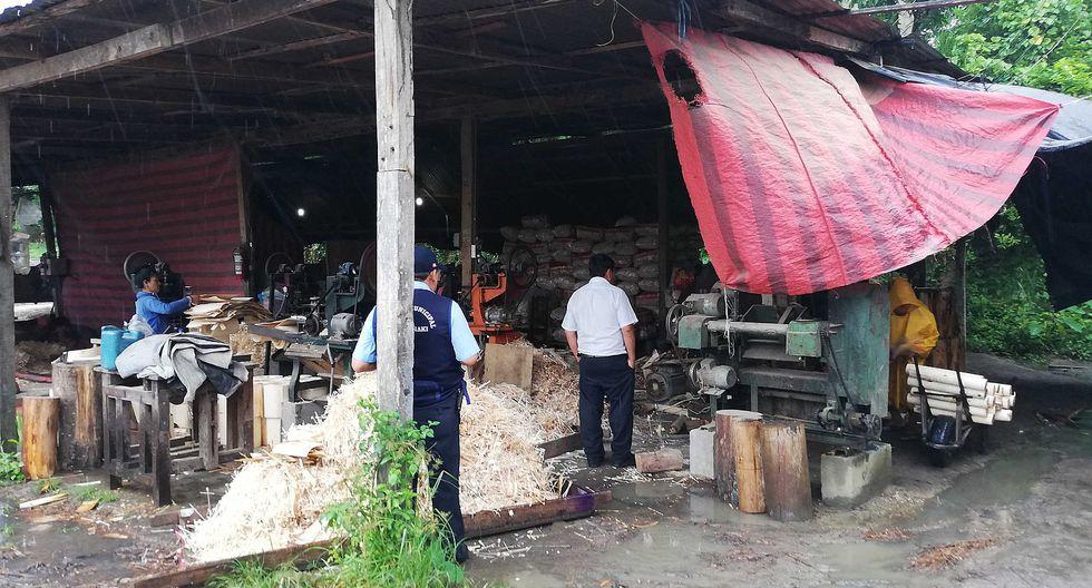 Madereras funcionan sin contar con certificado de Defensa Civil