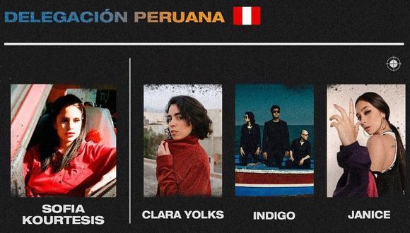 Clara Yolks, Indigo y Janice serán parte de la delegación peruana en el Primavera Pro de España. (Foto: Instagram)