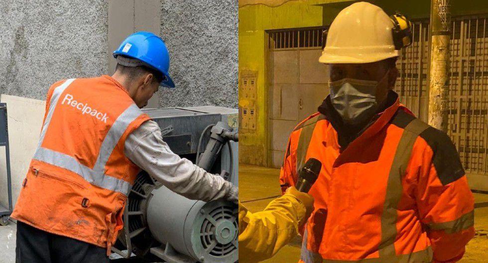 "Christian Benites: el joven que inició reciclando en ""La Cachina"" hasta fundar su empresa de reciclaje (Foto: Minam)"