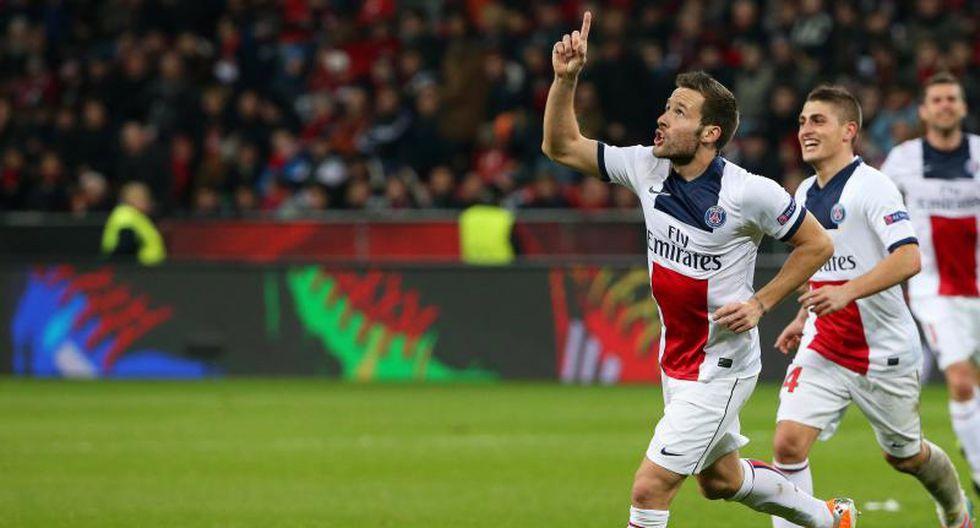 Champions League: PSG goleó 4-0 al Bayer Leverkusen