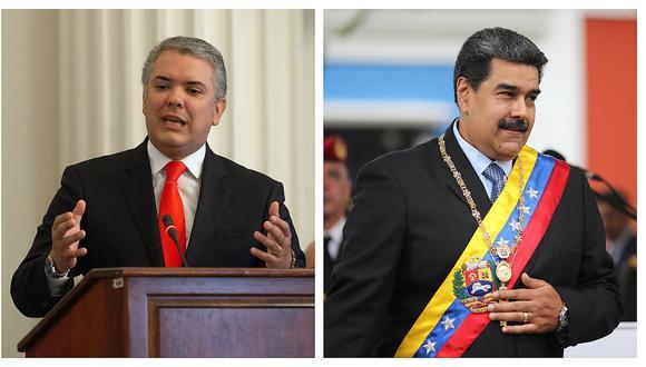"""Gobierno colombiano: """"Sólo el dictador Maduro será responsable si hay hechos de violencia en la frontera"""""""