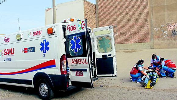 Comprarán 15 ambulancias para fortalecer sistema de emergencias en La Libertad