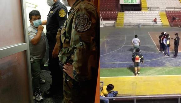 Regidor Cruz es detenido por PNP/ Foto: Correo