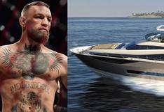 Conor McGregor compró un nuevo lujoso yate luego de su pelea con Poirier (FOTO)