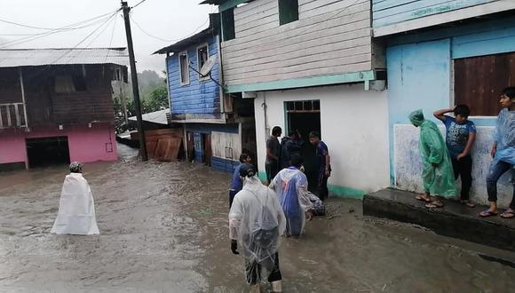 En San Gabán un centenar de familias han sido afectadas debido a la inundación. (Foto: Difusión)