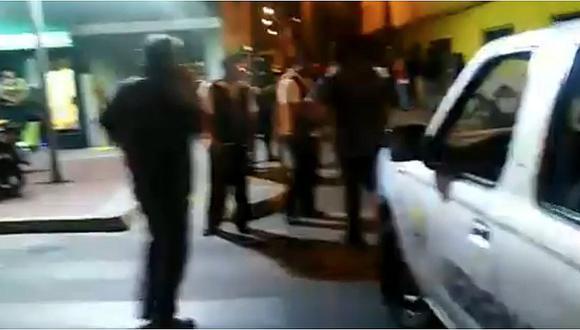 Se reporta un herido en balacera en Carmen de la Legua (VIDEO)
