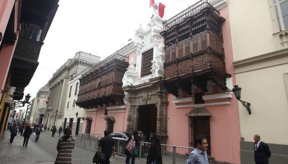 La Cancillería peruana se refirió a las opiniones de políticos extranjeros sobre las Elecciones Generales de Perú de 2021. (Foto: GEC)