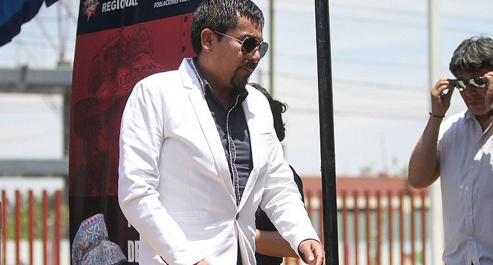 Gobernador Cáceres Llica tuvo una accidentada visita a La Joya