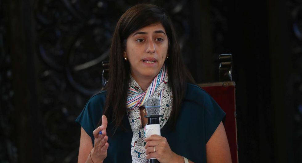 María Antonieta Alva, ministra de Economía y Finanzas. (Foto: Alessandro Currarino/GEC)
