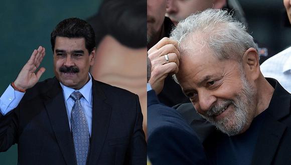 """Nicolás Maduro sobre la liberación de Lula da Silva: """"El pueblo venezolano está feliz"""