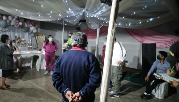 Chincha: Policía interviene matrimonio y fiesta de 15 años en Sunampe.