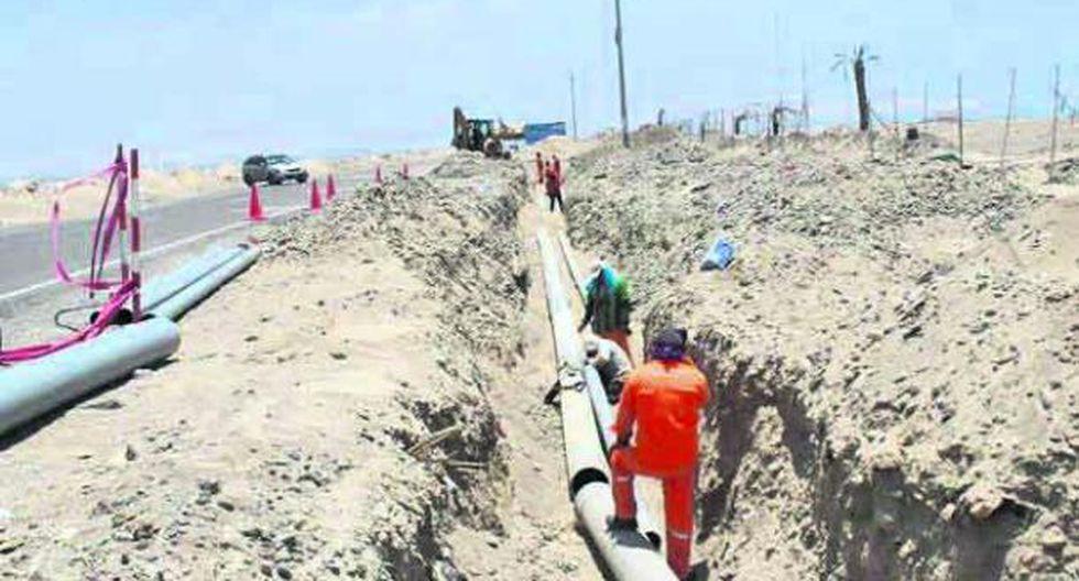 Avanzan trabajos de alcantarillado y tratamiento de aguas residuales