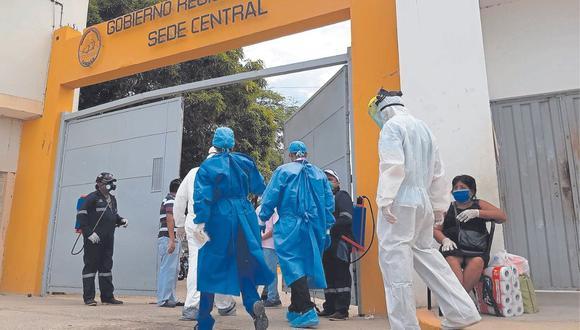Contratos fueron en el marco de la pandemia del nuevo coronavirus.