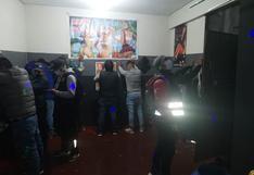Intervienen discoteca ilegal que operaba en plena pandemia en Juliaca