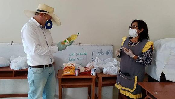 Entrega de alimentos de Qali Warma depende de los directores de colegios en Arequipa