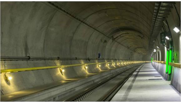 YouTube: Este es el túnel más largo y más profundo del mundo (VIDEO)