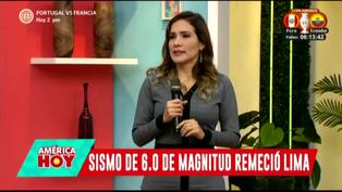 Alvina Ruiz contó cómo fue enfrentar sismo en plena emisión en vivo de Canal N