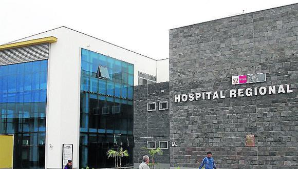 Delincuentes intentan robar en el Hospital Regional de Ica