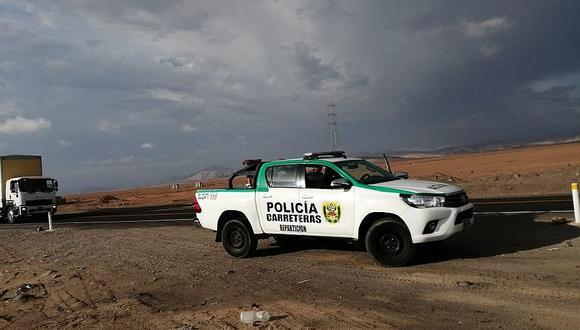 Un muerto y tres heridos en accidente en la vía binacional