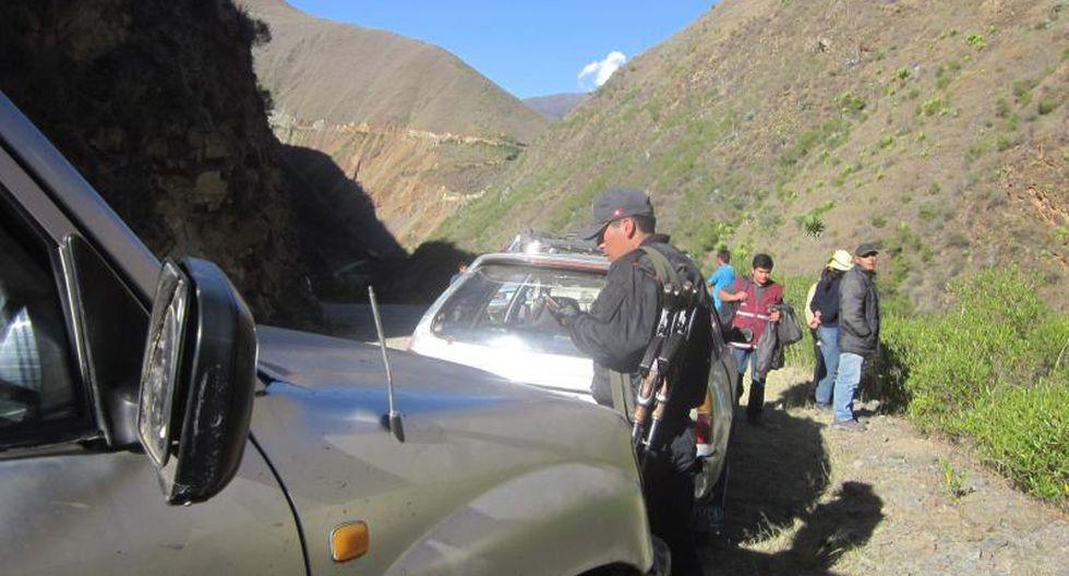 Asaltan a juez y fiscal en la vía Huánuco-Lauricocha