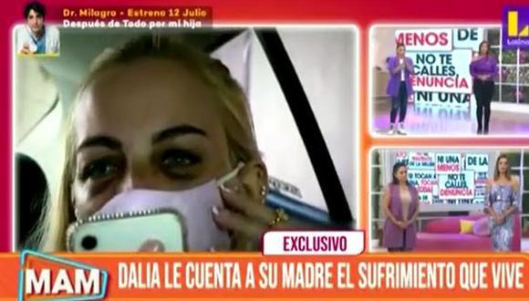 """Andrea San Martín llora al hablar de drama que vive Dalia Durá.n: """"Me sensibiliza mucho"""". (Foto: captura de video)"""