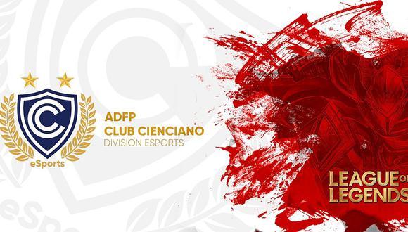Cienciano es el primer club peruano en presentar su equipo en el League of Legends