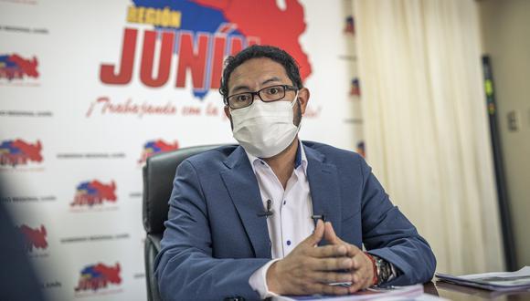 Orihuela sostuvo una reunión con el presidente Pedro Castillo junto a una delegación de autoridades de la región de Junín. (Foto: GEC)