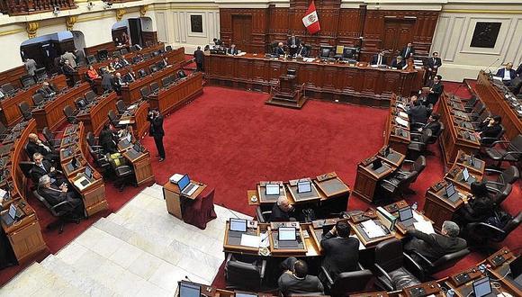 Pleno aprueba cuestión previa que incorpora delito de financiamiento en Código Penal