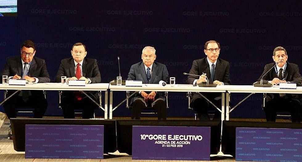 """César Villanueva en 10° Gore: """"Tenemos un país potente en desarrollar"""""""