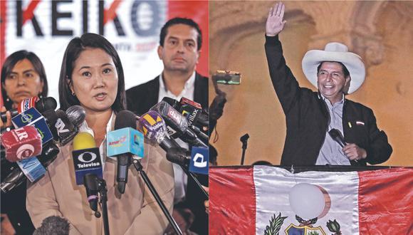 Perú Libre aventaja a Fuerza Popular por 44 mil 58 votos. Sin embargo, aún hay actas observadas en el Jurado, por lo que simpatizantes de Fujimori protestaron ayer en Trujillo. Además, especialista y congresista electa rechazan planteamiento para anular comicios.