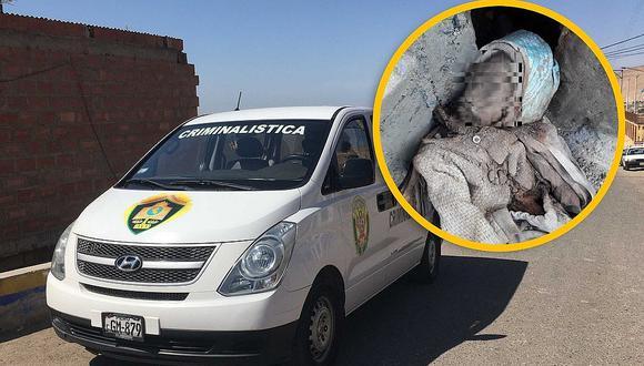 Hombre encuentra en su vivienda a un bebé en estado de momificación