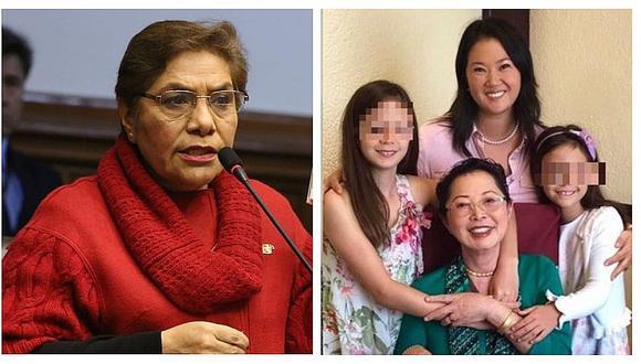 Luz Salgado: No me extraña que hija de Keiko Fujimori haya escrito una carta al Tribunal Constitucional