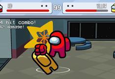 Fanático crea un videojuego de lucha inspirado en 'Among Us'
