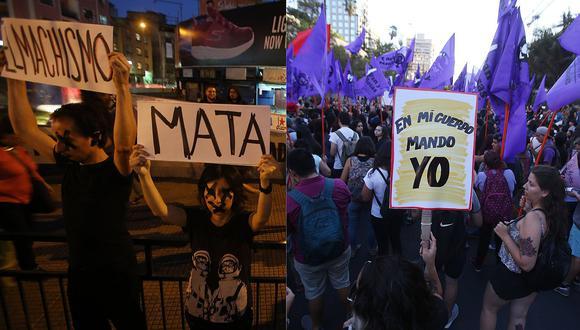 Chile: Miles de personas marcharon en Santiago por derechos de las mujeres