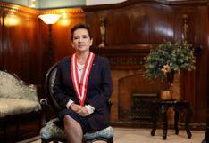"""Elvia Barrios: """"No tengo facultades para separar al presidente del JNE"""""""