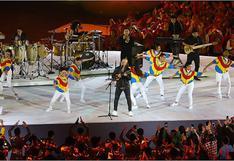 Gian Marco hizo vibrar al Estadio Nacional con la canción 'Contigo Perú' (VIDEO)