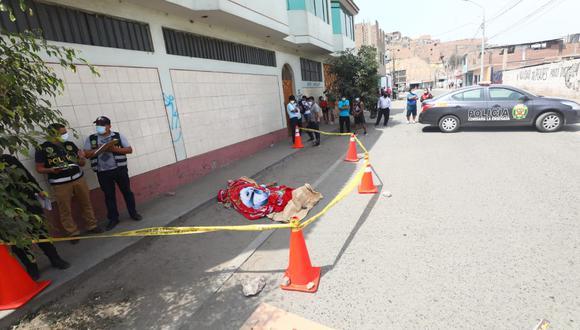 La Policía Nacional investiga si el padre de familia fue víctima de marcas. Fotos: Gonzalo Córdova/ @photo.gec