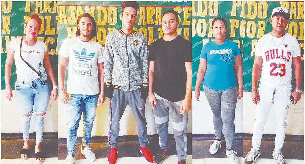 Intervienen a 165 venezolanos por diversos delitos