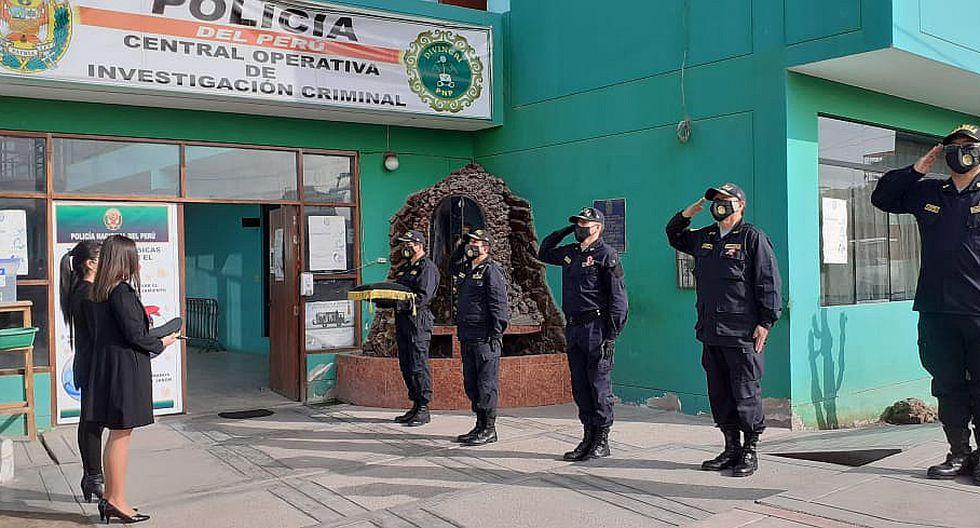 Rinden homenaje al primer policía de Tacna que murió en la lucha contra el virus COVID-19