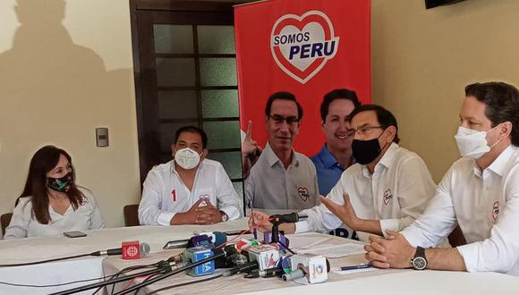 Candidatos permanecieron en Arequipa por dos días| Foto: Somos Perú