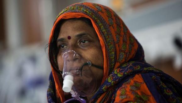 India ha batido récords de contagios diarios de COVID-19 y se convirtió en el nuevo epicentro de la pandemia. (Foto: AFP)