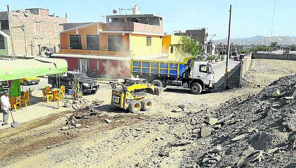 Esperan transferencia de S/ 6 millones para segunda etapa de asfaltado en Vista Alegre