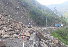 Vehículo policial fue alcanzado por un huaico en la selva de Puno