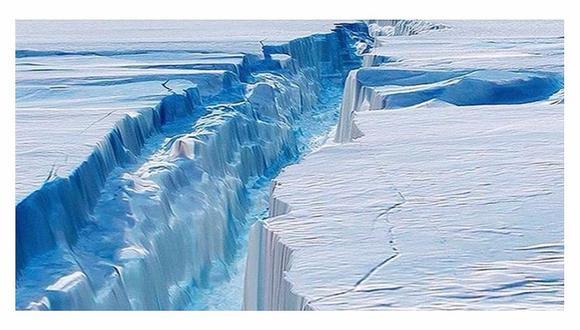 Los peligros que representa desprendimiento de iceberg de la Antártida