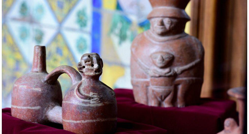 Recuperan más de 500 piezas arqueológicas extraídas ilegalmente del país