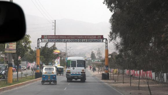 Huaycán se desprende de Ate y se convierte en un distrito. (GEC)