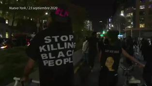 Más de 100 detenidos en protestas por caso de afroestadounidense muerta